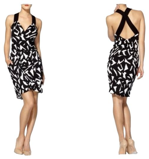 Low Cost Bcbgeneration Black White Bcbg Criss Cross Dress 54