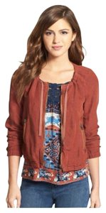 Lucky Brand Burnt Henna Jacket