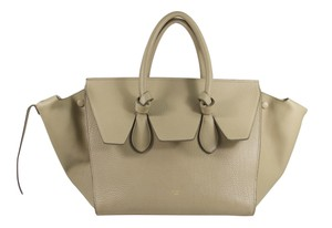 Cline Knot Trapeze Phantom Tote in camel
