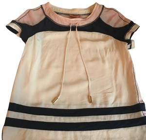 Tory Burch Top pink and navy