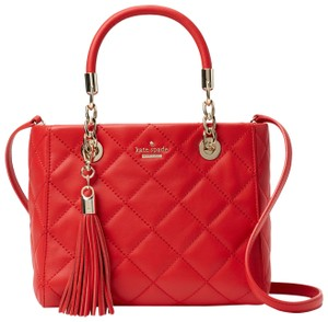 Kate Spade Emerson Place Lyanna Quilted Leather Shoulder Bag