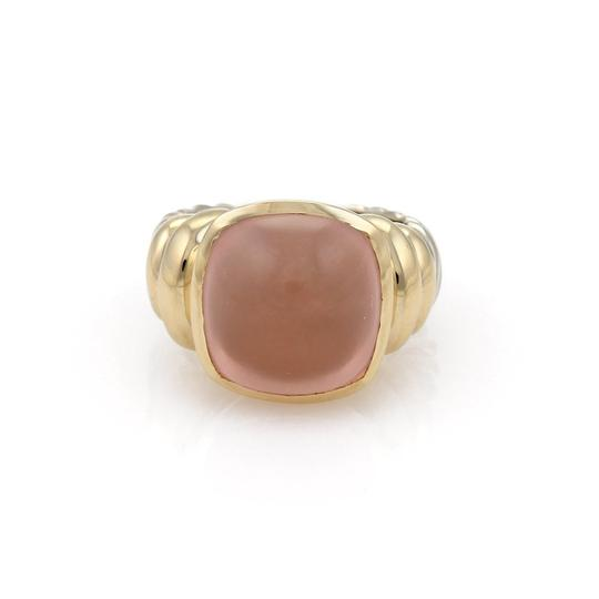 Preload https://img-static.tradesy.com/item/22463624/david-yurman-yellow-gold-pink-quartz-rose-sterling-and-14k-cable-cocktail-size-45-ring-0-0-540-540.jpg