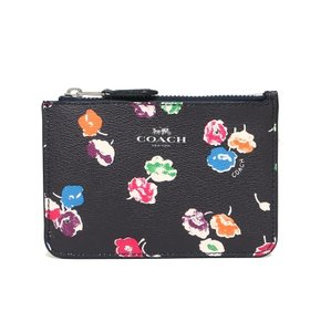 Coach COACH F65444 KEY POUCH WITH GUSSET IN WILDFLOWER PRINT