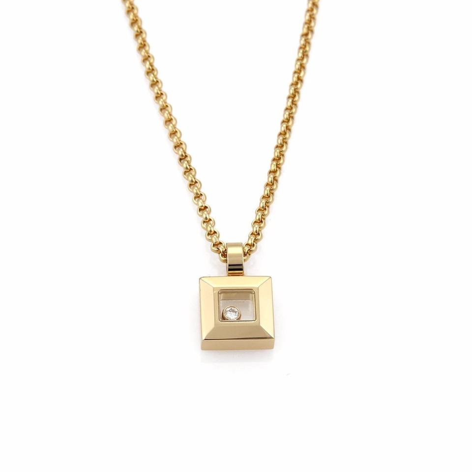 new amp gold image square sapphire diamond pendant necklace white jewellery
