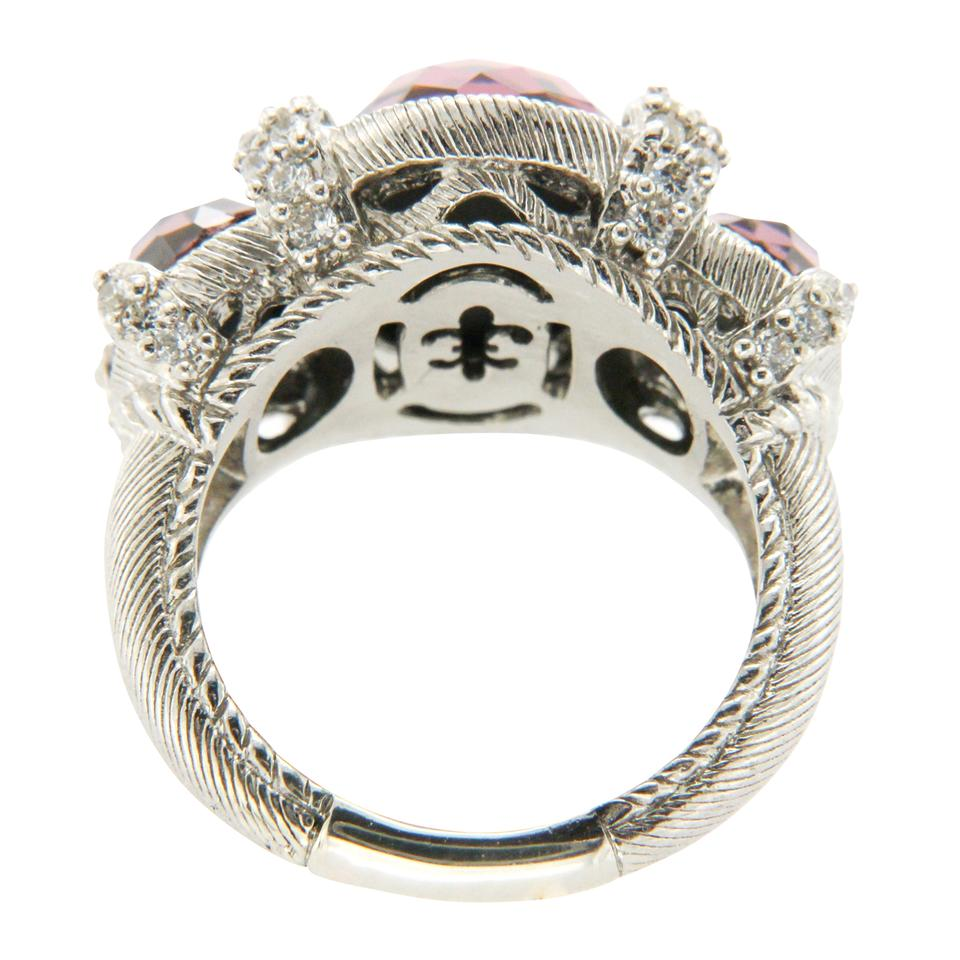 silver i corundum judith collection pink rings ripka legacy sterling ring
