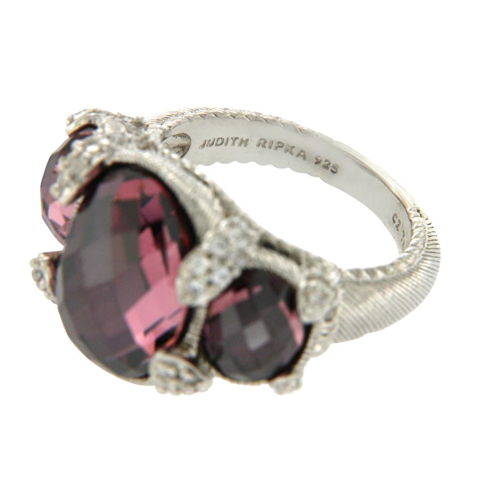 corundum pc pin red gift rubis silver big luxury wedding color synthetic ring women rings for