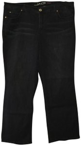 INC International Concepts Boot Cut Jeans-Dark Rinse