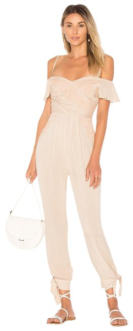 Item - Ivory In The Moment Romper/Jumpsuit