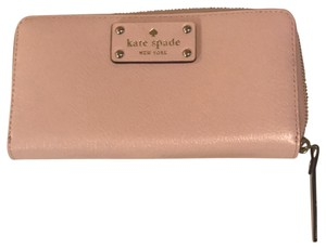 Kate Spade Baby Pink Clutch