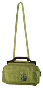 Diesel Lime Green Messenger Bag