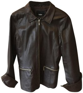 Mossimo Supply Co. Chocolate Brown Jacket