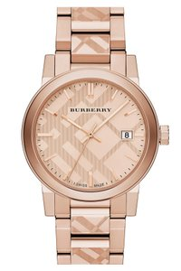 Burberry Swiss Rose Gold Ion-Plated Stainless Steel Bracelet Watch 38mm Bu9039