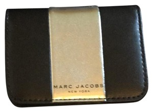 Marc Jacobs Black/Silver Card Case