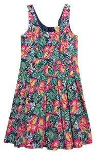 Foreign Exchange short dress Floral Print on Tradesy