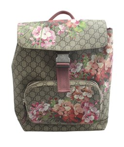 Gucci Gucci Blooms GG Canvas Backpack (138336)