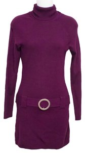 INC International Concepts Turtle Neck Long Sleeve Dress