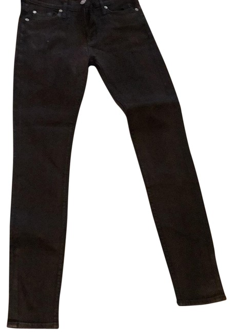 Item - Brown Coated Nico Mid Rise Skinny Jeans Size 26 (2, XS)