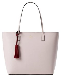 Kate Spade On Purpose Leather Patches Uvru0147 Shoulder Tote in plum dawn/rioja