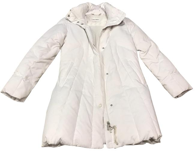 Item - White Feather Down Coat Size 2 (XS)