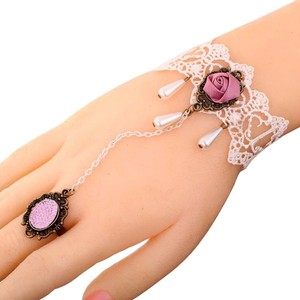other Lacy Lolita Slave Bracelet - Ring NWT