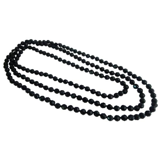 Preload https://item5.tradesy.com/images/black-fancy-fashionable-long-chain-multifaceted-long-necklace-2246744-0-0.jpg?width=440&height=440
