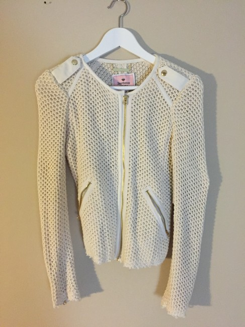 Juicy Couture Gold white Jacket