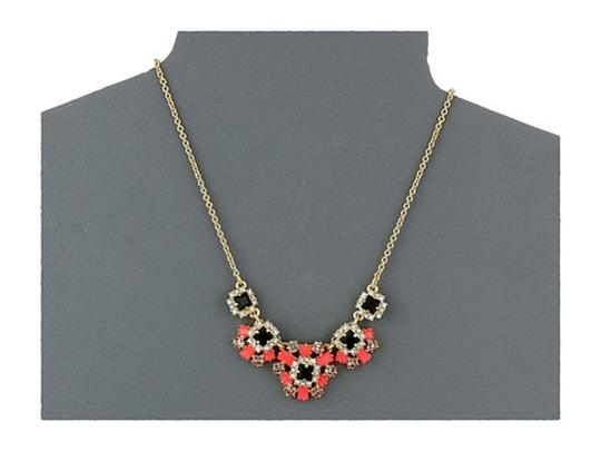 Kate Spade Space Age Floral Statement Necklace
