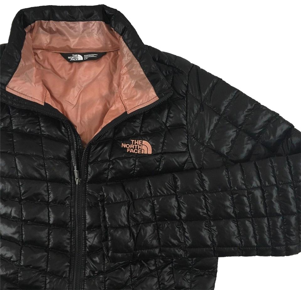 3fbed18924 The North Face Thermoball Women s TNF BLACK   ROSE DAWN Jacket Image 0 ...