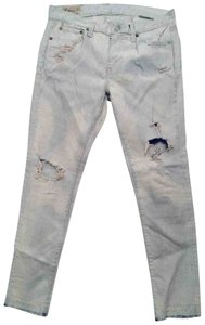Polo Ralph Lauren Skinny Jeans-Distressed