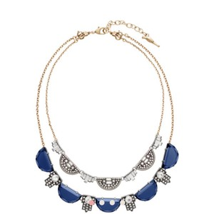 Chloe + Isabel Grand Cabaret Two-Row Convertible NECKLACE AND EARRING SET