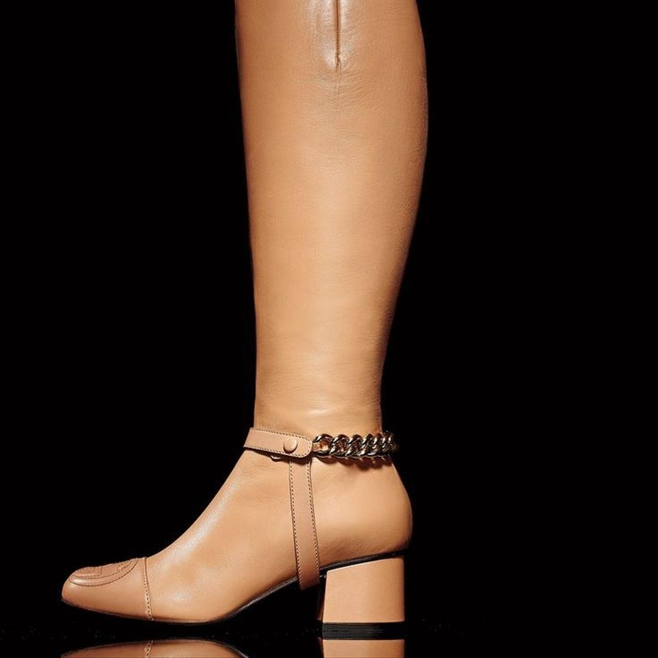 b824b7a6f9c5 Gucci Soho - Leather Knee Boots Booties Size US 8 Regular (M