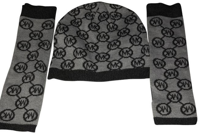 Item - Black / Gray Hats and Arm Covers Hair Accessory