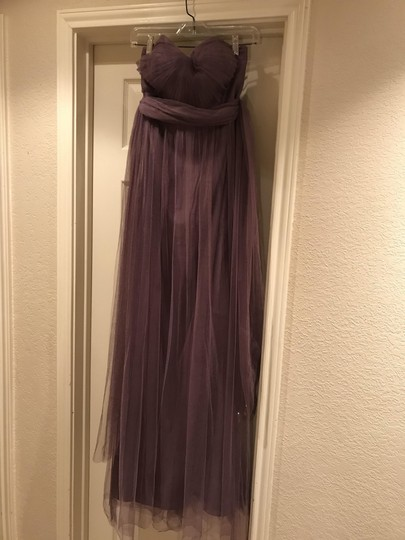 BHLDN Soft Plum Annabelle Bridesmaid/Mob Dress Size 4 (S) Image 1