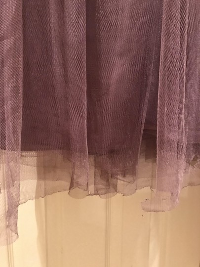 BHLDN Soft Plum Annabelle Bridesmaid/Mob Dress Size 4 (S) Image 3