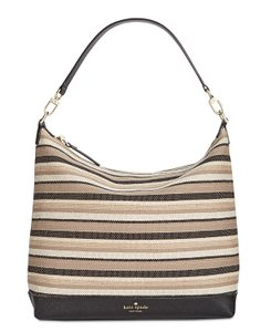 Kate Spade Stripe Hobo Bag