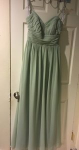 Alfred Angelo Sage 7323l Bridesmaid/Mob Dress Size 4 (S)