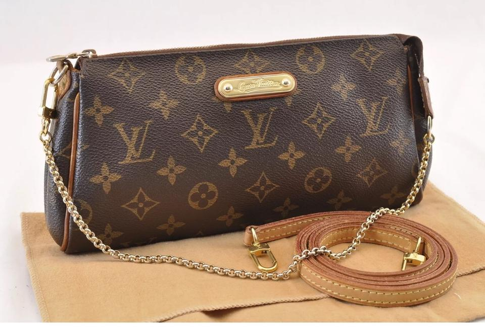 d77a6062d Louis Vuitton Crossbody Eva With Strap and Chain Monogram Canvas ...