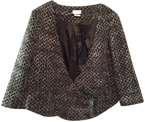 Cooperative Risd Urban Outfitters Black and Grey Tweed Blazer