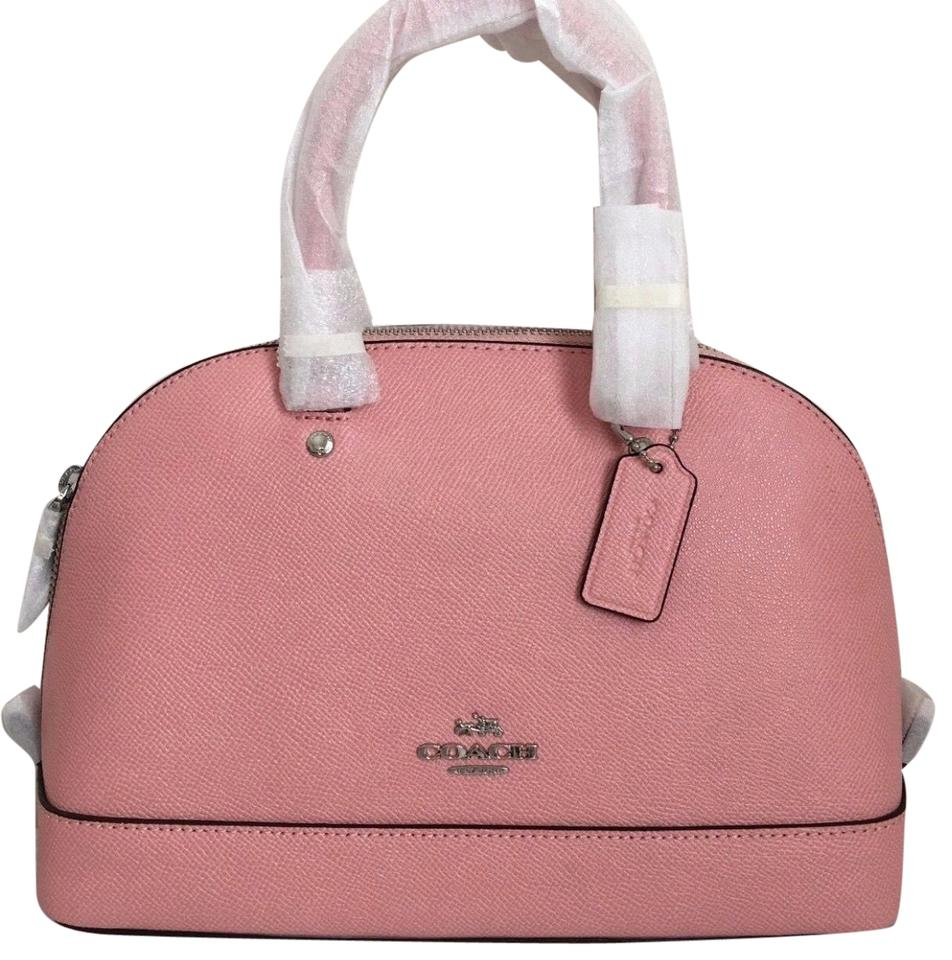 804288b30d2c Coach Sierra Mini Satchel Crossbody Blush (Light Pink) Crossgrain ...