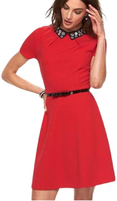 Preload https://item5.tradesy.com/images/elle-red-nice-mid-length-cocktail-dress-size-10-m-22470339-0-1.jpg?width=400&height=650