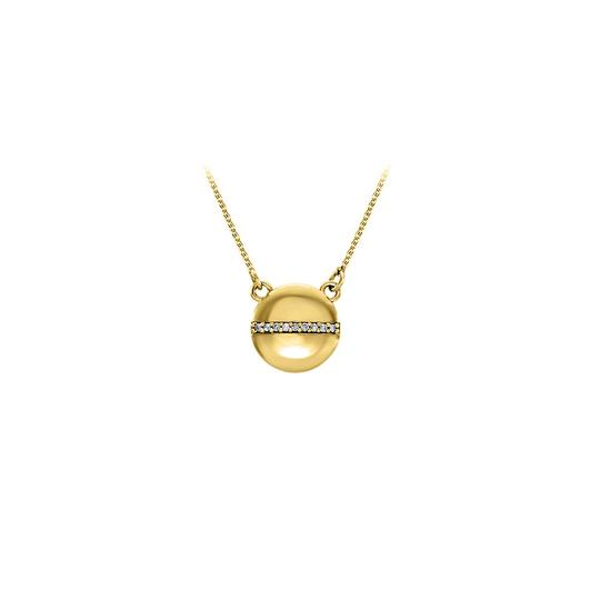 Preload https://img-static.tradesy.com/item/22470402/white-yellow-circle-with-row-of-cz-in-center-gold-vermeil-necklace-0-0-540-540.jpg