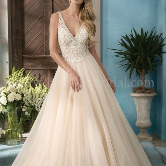 Preload https://img-static.tradesy.com/item/22470441/jasmine-bridal-ivory-vintage-organza-f191057-feminine-wedding-dress-size-10-m-0-0-540-540.jpg