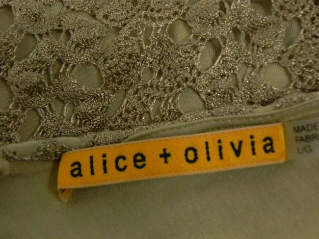 Alice + Olivia Lace Sheath Party Holiday Date Dress