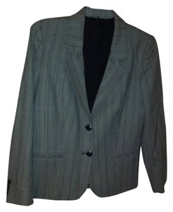 York Fair 100% Wool grey Blazer