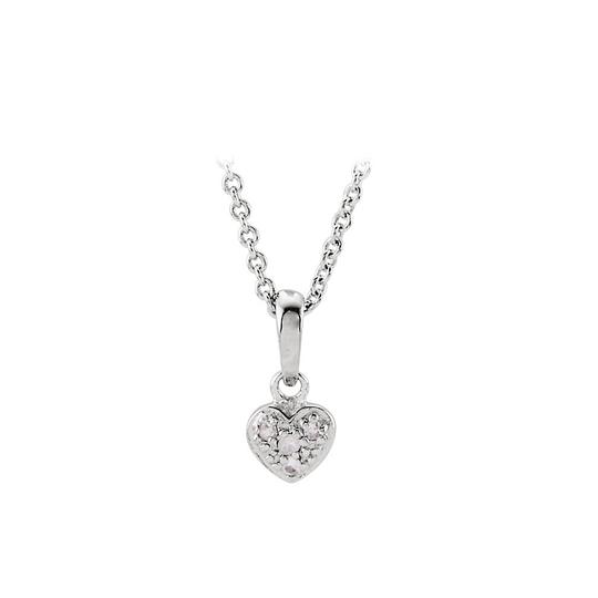 Preload https://item1.tradesy.com/images/white-silver-sapphire-heart-disney-collection-necklace-22470490-0-0.jpg?width=440&height=440
