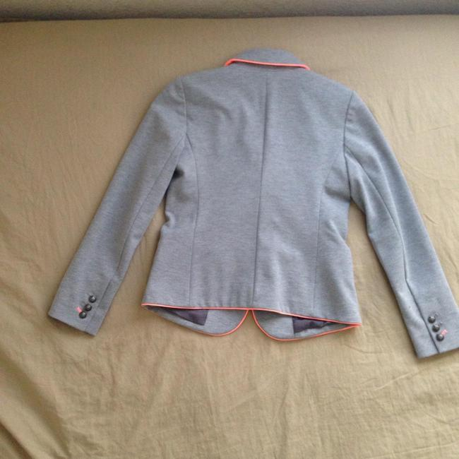 Gap Academy Casual Work Gray with Pink piping Blazer