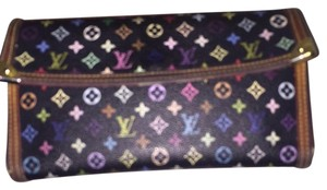 Louis Vuitton Monogram Black Multi Louis Vuitton Wallet