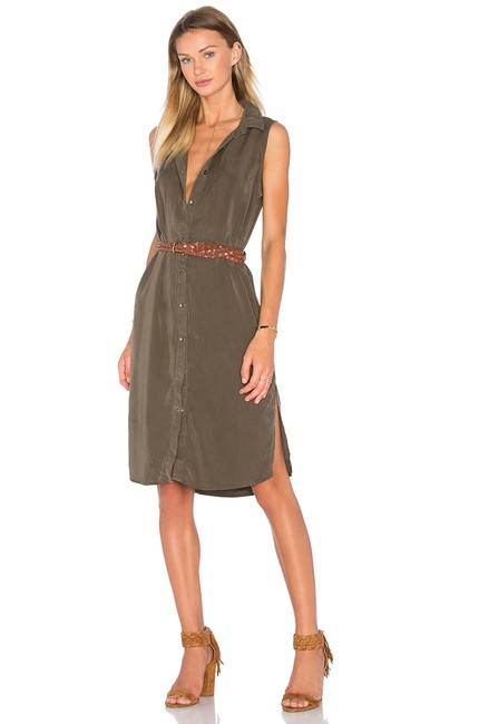 Splendid short dress MILITARY OLIVE on Tradesy