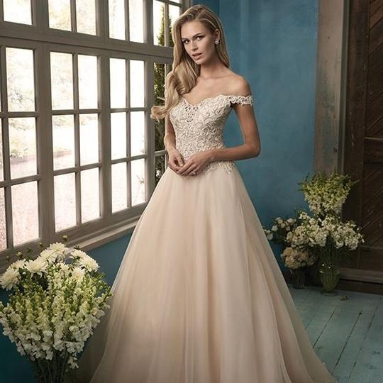 Preload https://item4.tradesy.com/images/jasmine-bridal-ivorygold-embroidered-lace-and-organza-f191060-traditional-wedding-dress-size-8-m-22470628-0-0.jpg?width=440&height=440