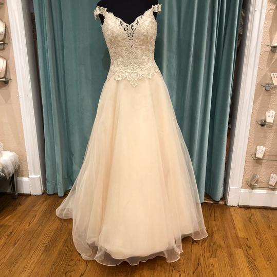 Preload https://img-static.tradesy.com/item/22470628/jasmine-bridal-ivorygold-embroidered-lace-and-organza-f191060-traditional-wedding-dress-size-8-m-0-1-540-540.jpg